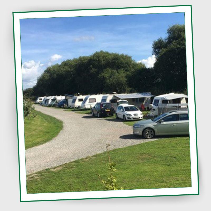 Kings Orchard Caravan Park In Huddlesford